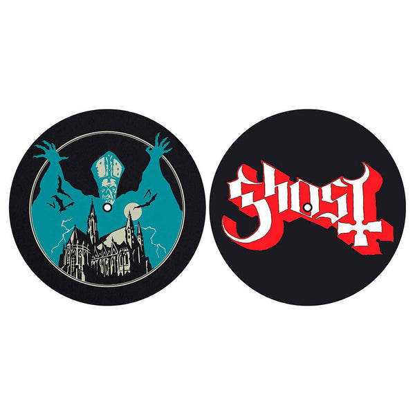 GHOST TURNTABLE SLIPMAT SET: OPUS EPONYMOUS/LOGO (RETAIL PACK)