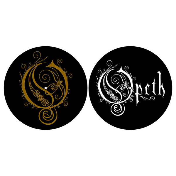 OPETH TURNTABLE SLIPMAT SET: LOGO/O (RETAIL PACK)