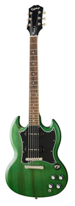 Epiphone SG Classic Worn P-90s - Worn Inverness Green