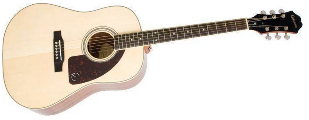 Epiphone AJ-220S Solid Spruce Top Natural Acoustic