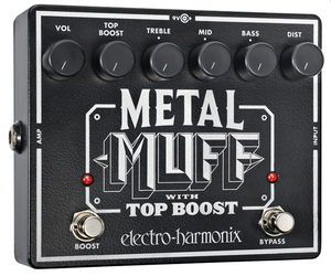 EHX Metal Muff with Top Boost Distortion