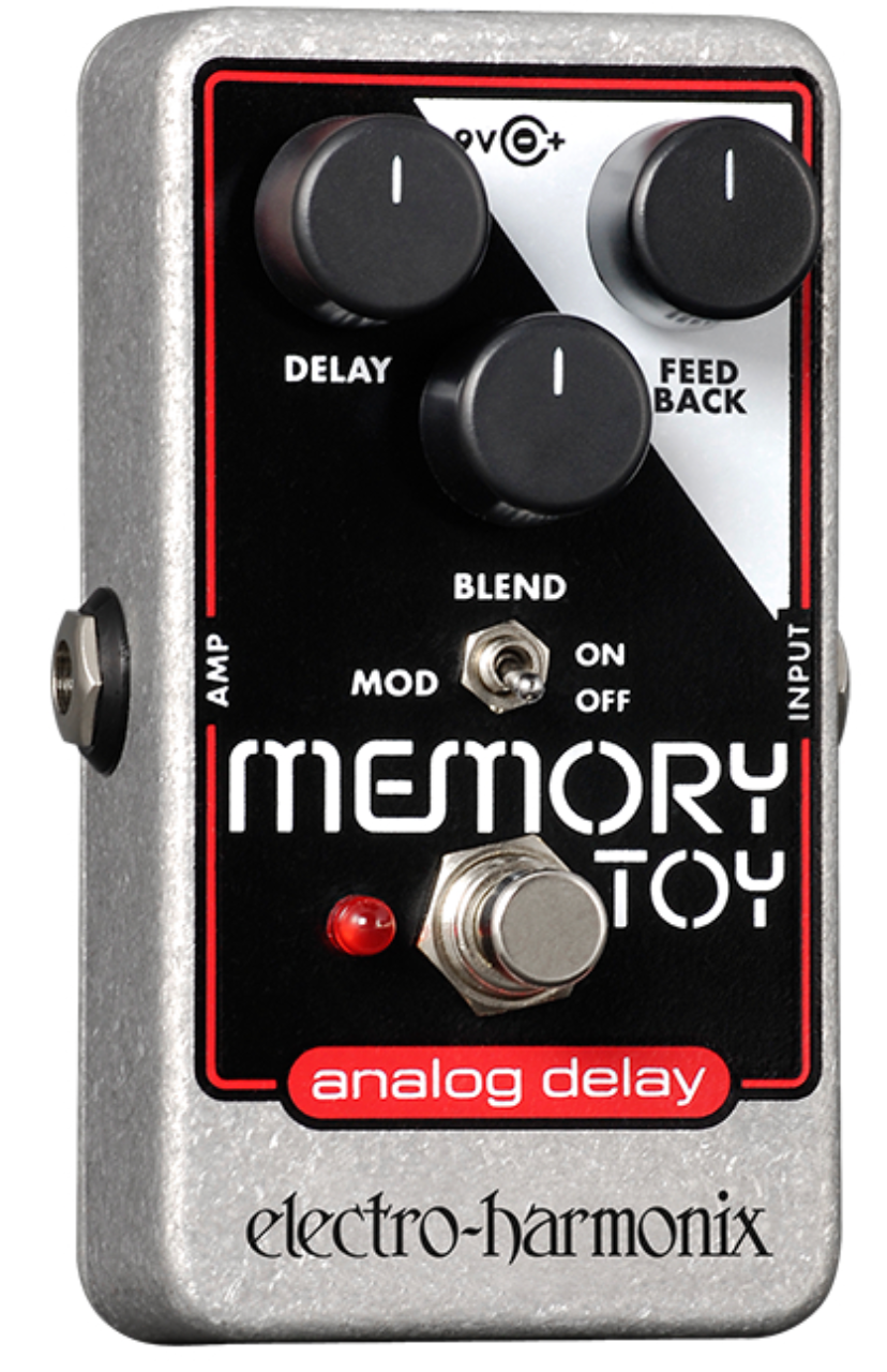 EHX Memory Toy Analog Delay With Modulation