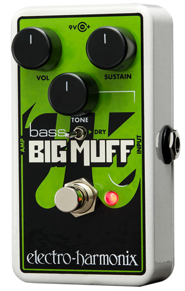 EHX Nano Bass Big Muff Pi Distortion / Sustainer for Bass