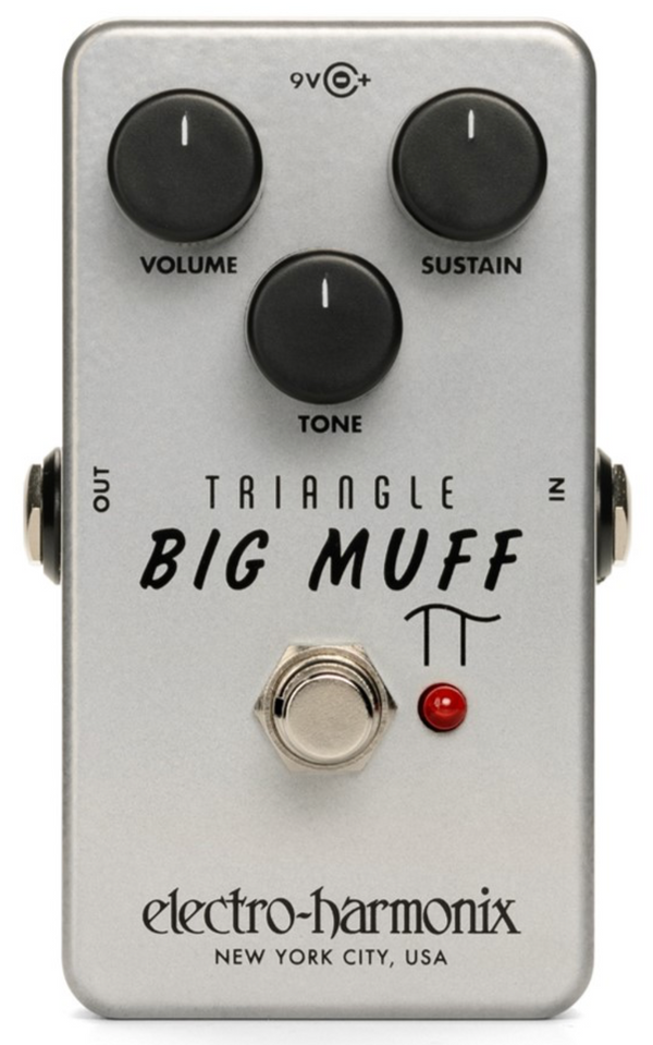 EHX Triangle Big Muff Pi Distortion / Sustainer