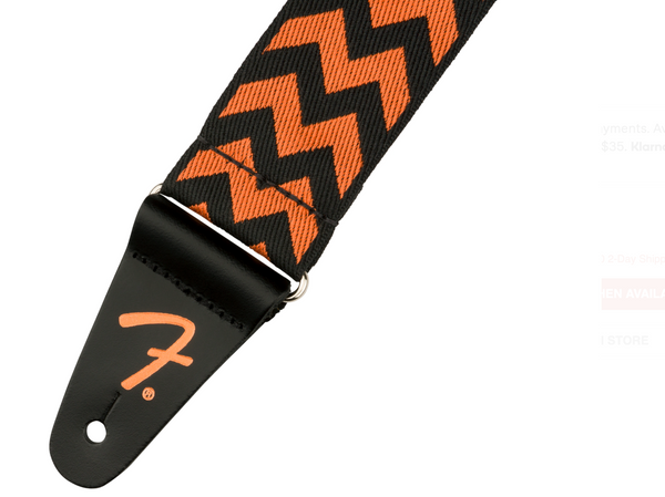 "Fender® 2"" Chevron Strap, Autumn"
