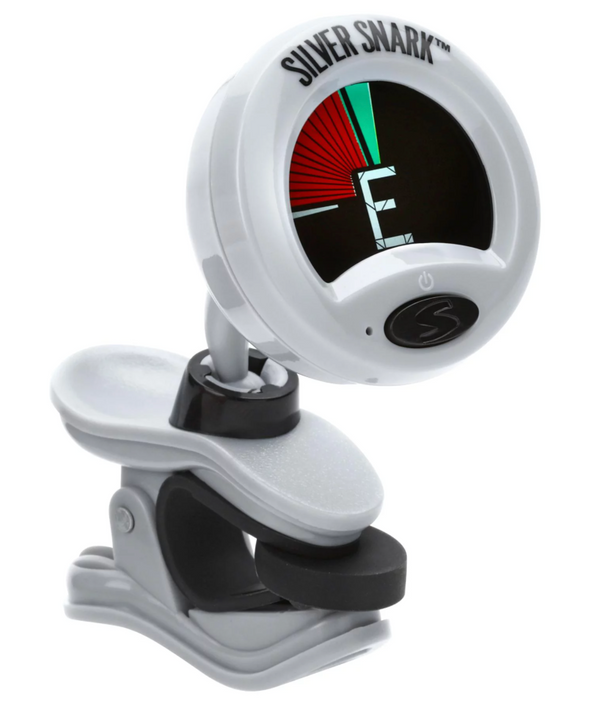 Snark SIL-1 Silver Snark Clip-on Chromatic Tuner