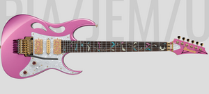 Ibanez Steve Vai PIA Signature Guitar - Panther Pink - Limited Edition 2020