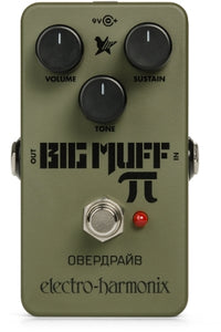 EHX Green Russian Big Muff Distortion / Sustainer