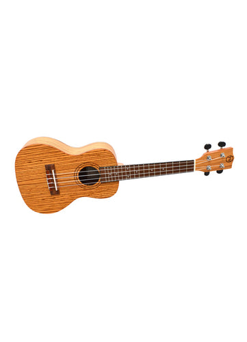 Twisted Wood Bailer Ukulele