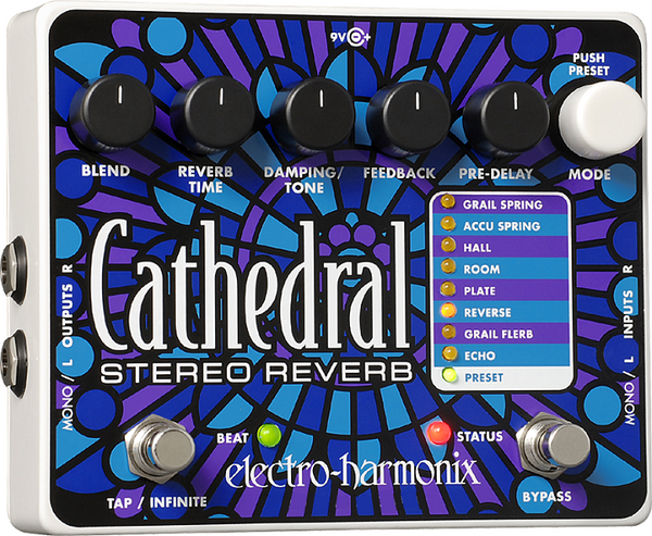 EHX Cathedral Stereo Reverb