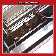 VINYL BEATLES RED ALBUM GREATEST HITS 1962-1966