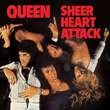 VINYL QUEEN SHEER HEART ATTACK