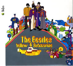 VINYL BEATLES YELLOW SUBMARINE