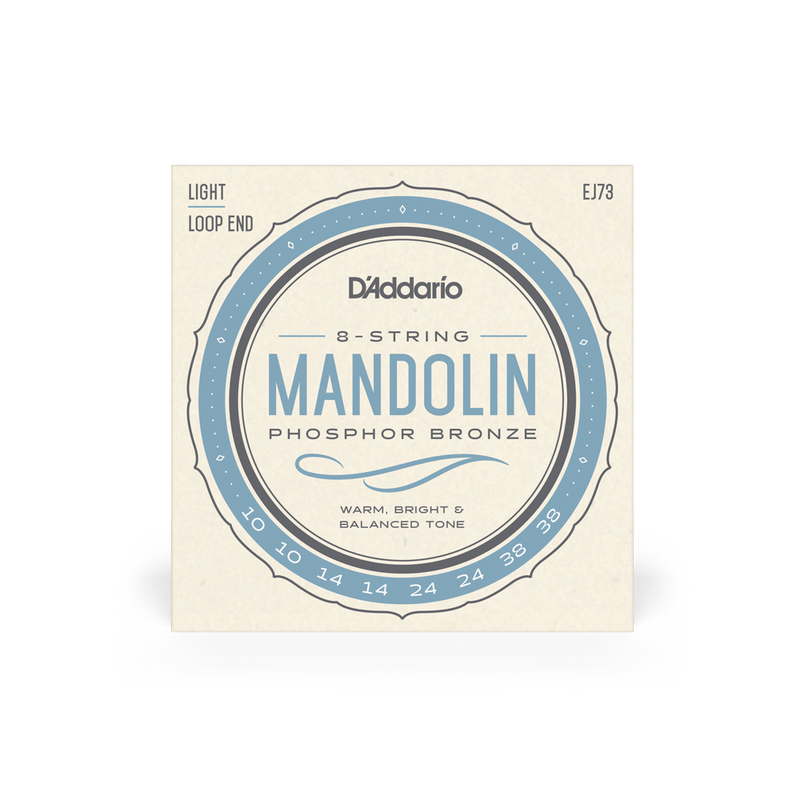 D'Addario Mandolin Strings Loop End Phosphor Bronze