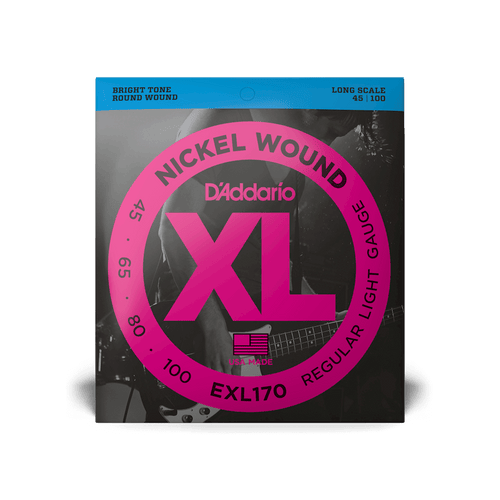 D'Addario XL Series Nickel Wound Bass Strings