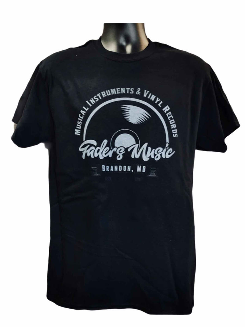 Faders Vinyl Logo T Shirt (Limited Edition)