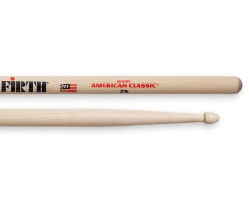 Vic Firth 7A American Classic Drumsticks (Hickory/Wood Tip)