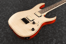 Ibanez RG Standard RGEW521FM-NTF Exotic Flame Maple Natural Flat