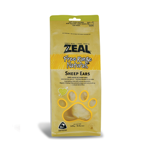 Zeal Free Range Naturals Sheep Ears (125g)