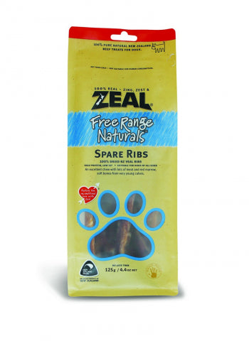 Zeal Free Range Naturals Veal Spare Ribs (125g) - PuppyGoGo Market