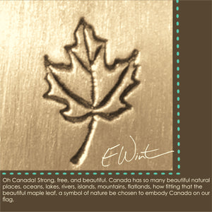 Meaning of maple leaf symbol.