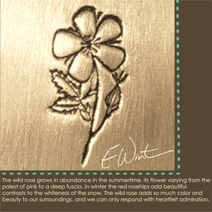 Meaning behind the Wild Rose Symbol.