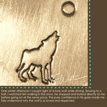 wolf howling symbol