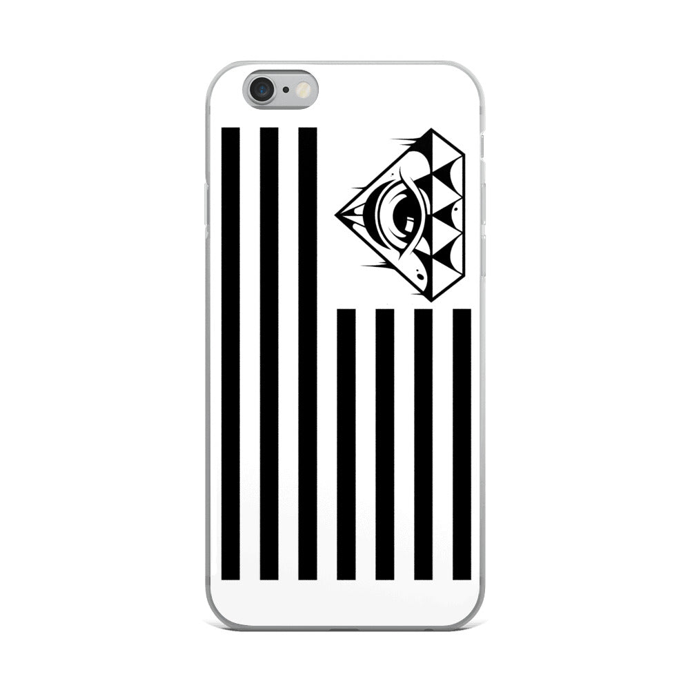 AMERICAN MAYHEM Black Print iPhone Case
