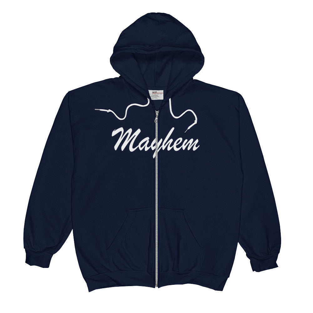 FUCK EVERYTHING CAUSE MAYHEM  Zip Hoodie