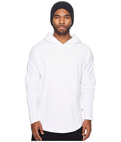 Midweight Drop Shoulder Knit Hoodie
