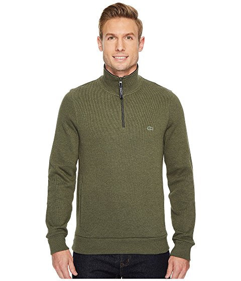 Rib Interlock 1/2 Zip