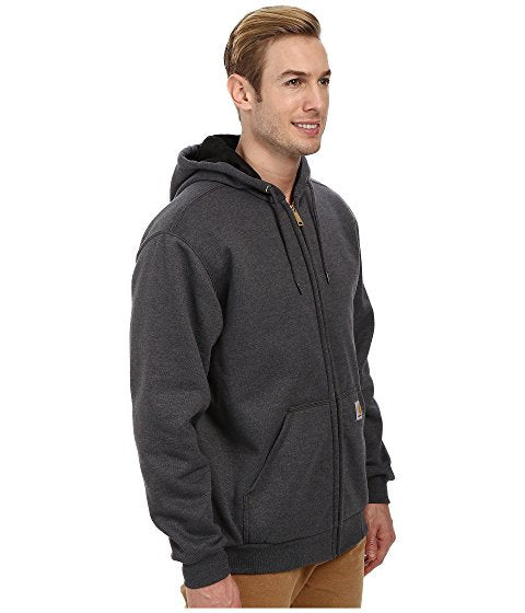 Rain Defender Rutland Thermal Lined Hooded Zip-Front Sweatshirt