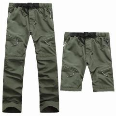 Quick Dry Detachable Hiking Pants