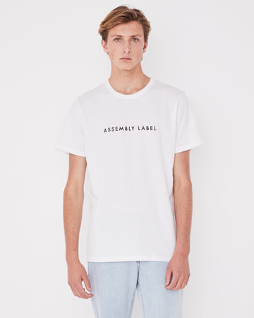 Tee / Logo - White - Men