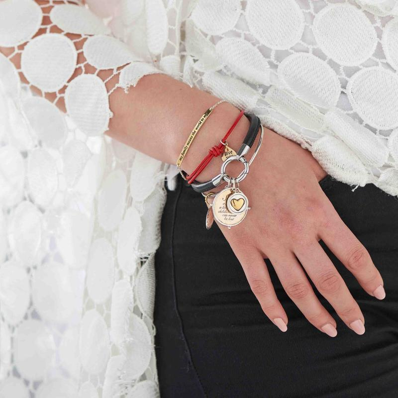 Bracelet / Leather Ring + Clasp