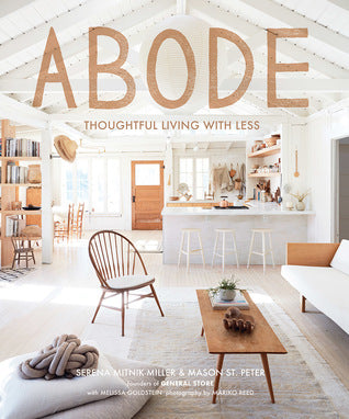 Book / Abode  - Thoughtful Living With Less