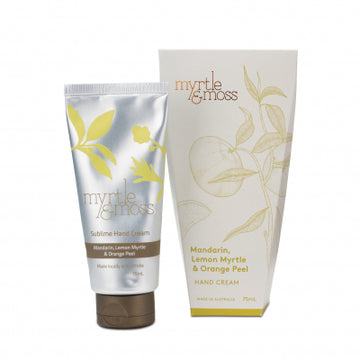 Hand Cream / 75mL - Mandarin + Lemon Myrtle + Orange Peel