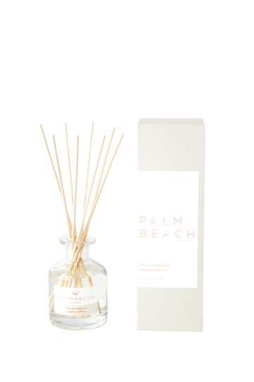 Mini Reed Diffuser / 50ml - Clove + Sandalwood