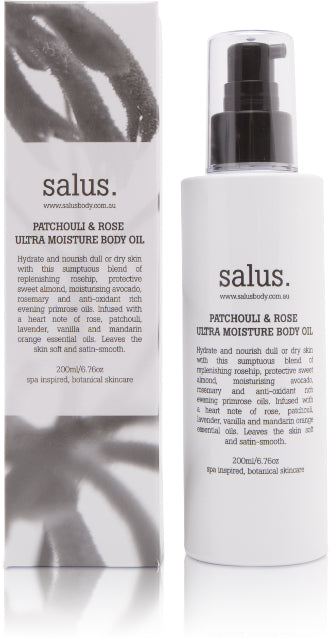 Body Oil / Moisturising - Patchouli + Rose Ultra