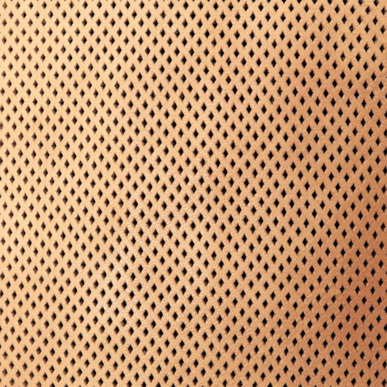 Perforated Leather Slouchy