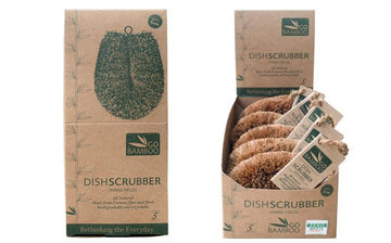 Dish Scrubber - Natural