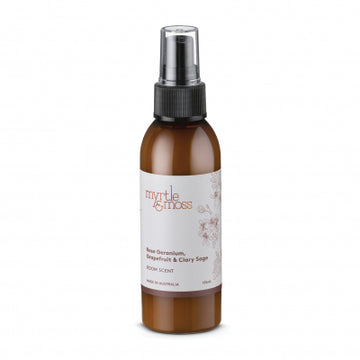 Room Scent / 125mL - Rose Geranium + Grapefruit + Clary Sage