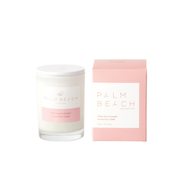Mini Candle / 70g - White Rose + Jasmine