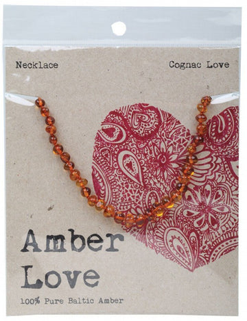 Necklace / Childrens - Amber Love