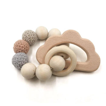 Teether / Cloud Wood / Cotton