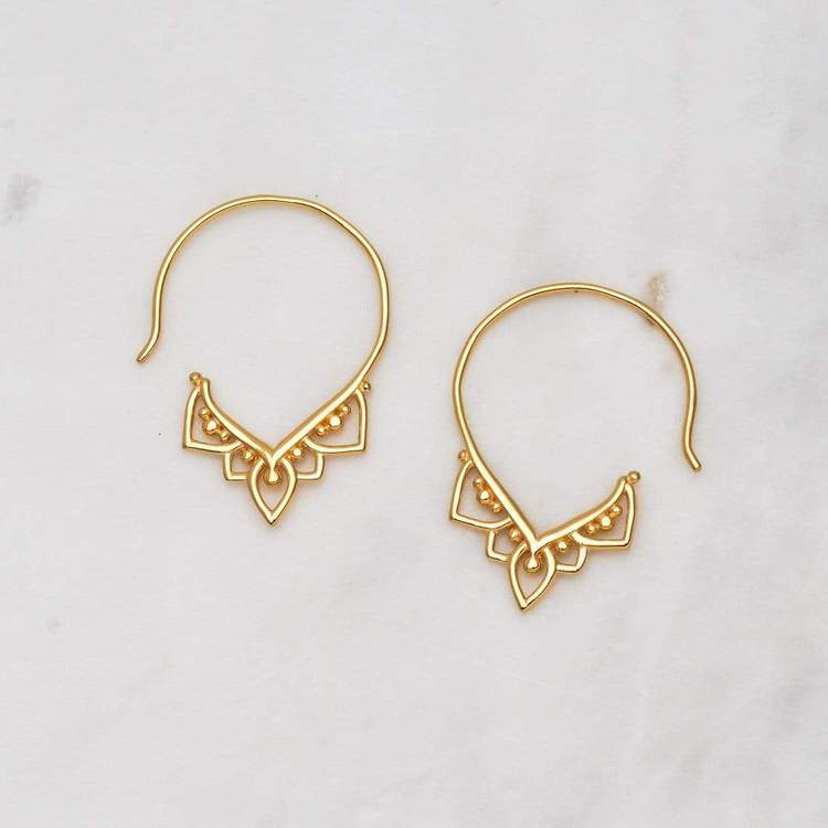Earrings / Mehndi Hoops