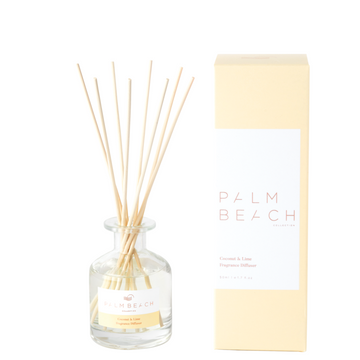 Mini Reed Diffuser / 50ml - Coconut + Lime