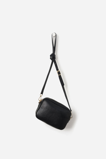 Leather Handbag / Dixon - Black