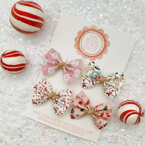 RAELYNN BOW // holiday print set
