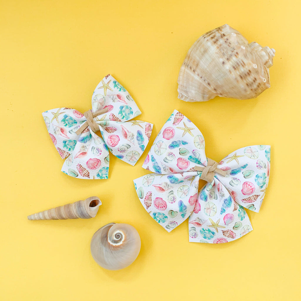SADIE BOWS // MY BIRTHSTONE IS A SEASHELL